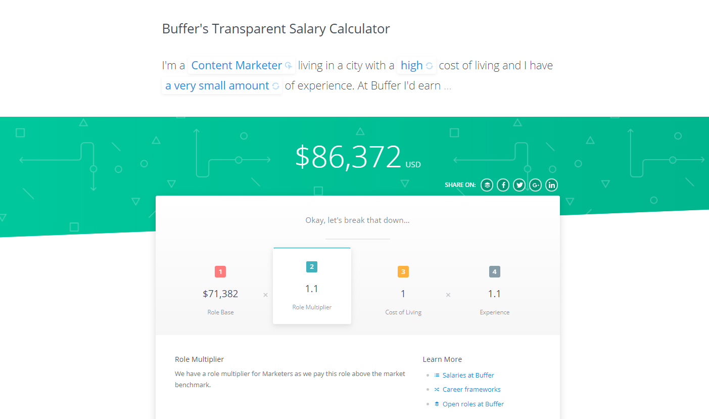Links Payroll salary snapshot